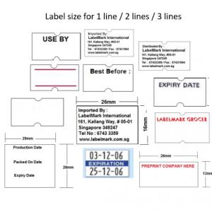 Price Marking Label