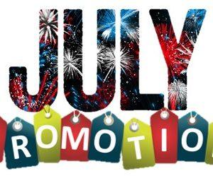 JULY PROMOTION